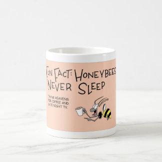 決して眠らない蜂蜜の蜂 コーヒーマグカップ