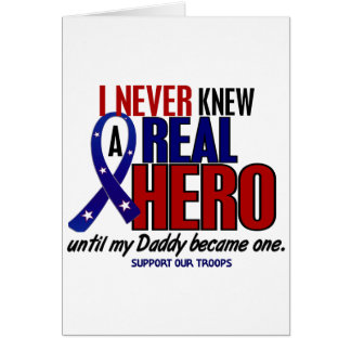決して知っていませんでした英雄2のお父さん(軍隊を支援)を カード