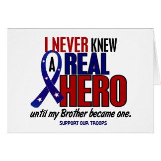 決して知っていませんでした英雄2の兄弟(軍隊を支援)を カード