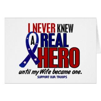 決して知っていませんでした英雄2の妻(軍隊を支援)を カード