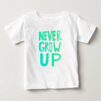 決して育たないで下さい ベビーTシャツ