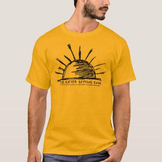 決して落日 Tシャツ
