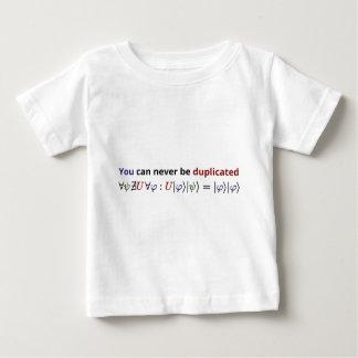 決して複写することができません ベビーTシャツ