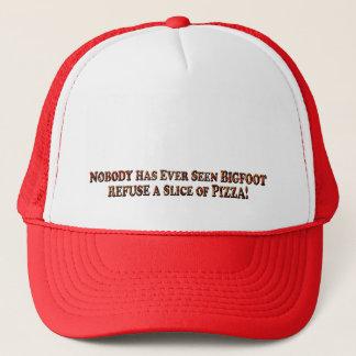 決して見られたビッグフットピザ文字のTrkrの帽子だけ断るため キャップ