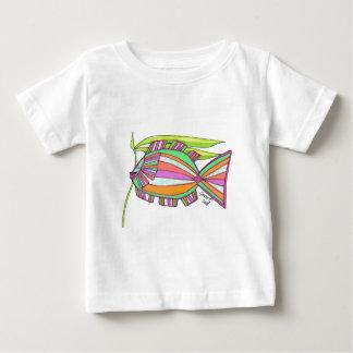 決して鈍い魚 ベビーTシャツ