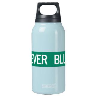 決して青い道、道路標識、ノースカロライナ、米国 断熱ウォーターボトル