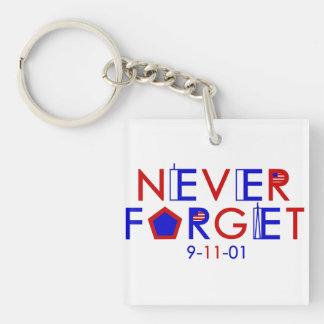 決して9-11-01 Keychainを忘れないで下さい キーホルダー