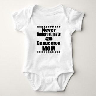 決してBeauceronのお母さんを過少見積りしないで下さい ベビーボディスーツ