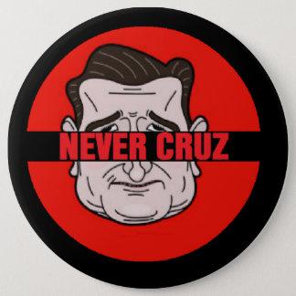 決してCruz 15.2cm 丸型バッジ
