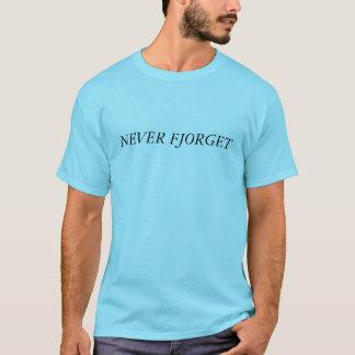 決してFjorget Tシャツ