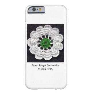決してSrebrenicaのiPhone 6/6sの場合を忘れないで下さい Barely There iPhone 6 ケース