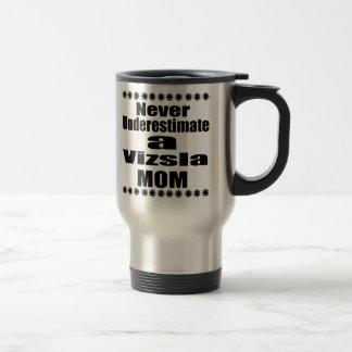 決してVizslaのお母さんを過少見積りしないで下さい トラベルマグ