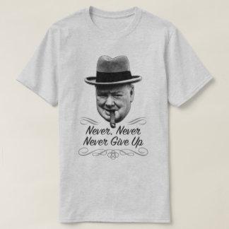 決してWinstonにやる気を起こさせるな世界大戦2のティーをあきらめないで下さい Tシャツ