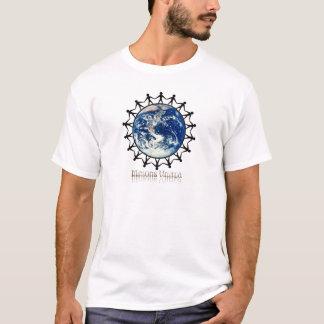 決め付けられる子分の統一されたな世界範囲 Tシャツ