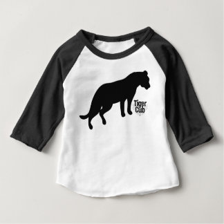 決め付けられる黒 ベビーTシャツ