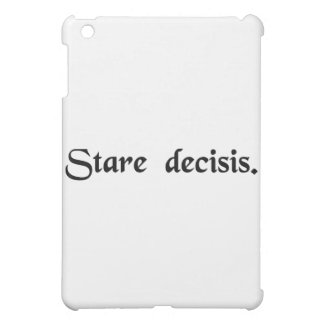 決定される事を待機するため iPad MINIケース
