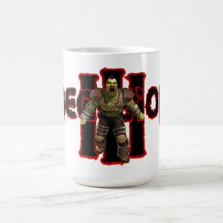 決定3のマグのはえの金敷 コーヒーマグカップ