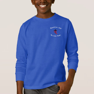 決断の2017子供 Tシャツ