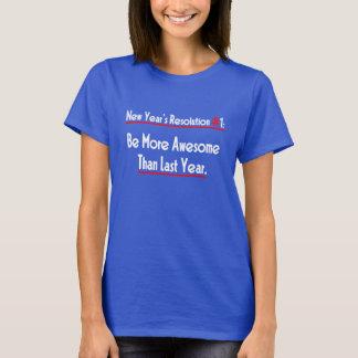 決断新年の#1 Tシャツ