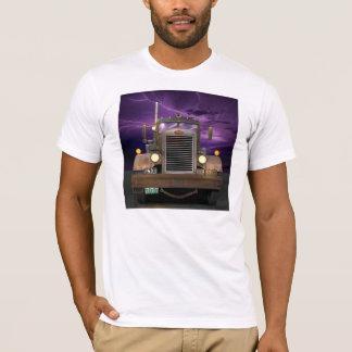 決闘のトラックのTシャツ Tシャツ