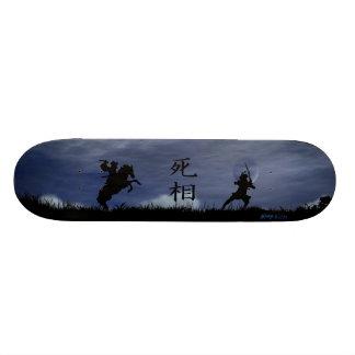 決闘の武士 カスタムスケートボード
