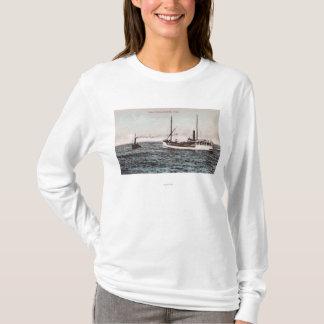 汽船ElizabethBandonの眺め、または Tシャツ