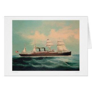 汽船S.S. China (1614A) カード