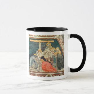 沈殿、c.1320 (フレスコ画) マグカップ