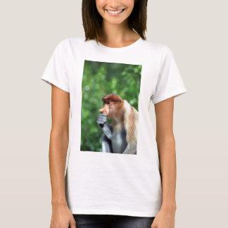 沈痛なテングザル Tシャツ