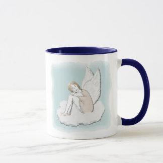 沈痛な天使のマグ マグカップ