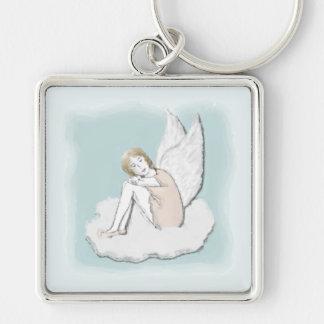沈痛な天使Keychain キーホルダー