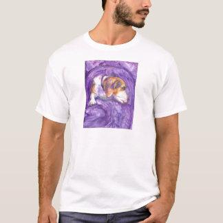 沈痛な子犬 Tシャツ