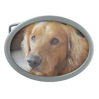 沈痛な犬のベルトの留め金 卵形バックル