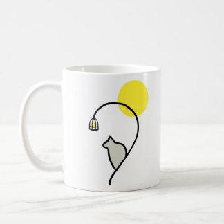 沈痛な猫のマグ コーヒーマグカップ