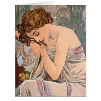 沈痛な1887年 ビッググリーティーングカード