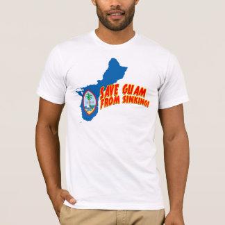 沈降からグアムを救って下さい Tシャツ