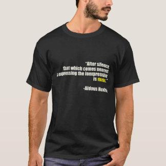 沈黙の後 Tシャツ