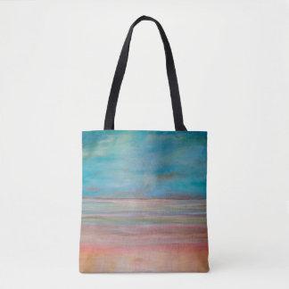 沈黙の抽象的概念の芸術の反射 トートバッグ