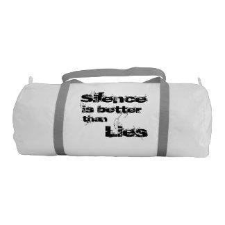 沈黙のDuffleの体育館のバッグ ジムバッグ