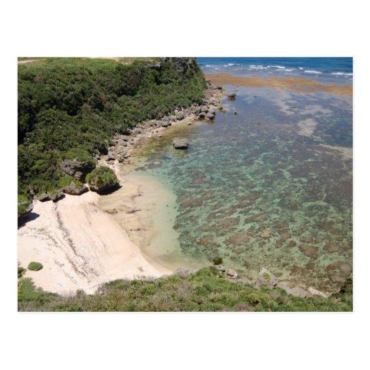 沖縄の海 Sea of Okinawa (Miyagi Island) ポストカード