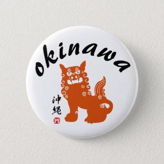 沖縄、沖縄オリエンタルのライオン 缶バッジ