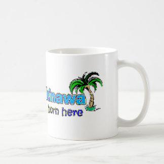 沖縄-私はで幸せここに生まれましたいました-マグ コーヒーマグカップ