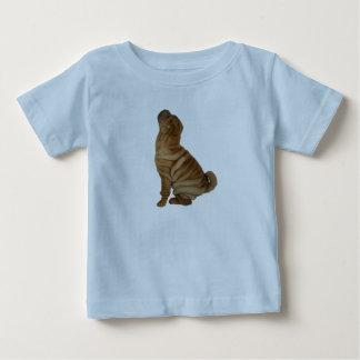 沢山のしわ ベビーTシャツ