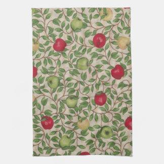 沢山のりんごの台所タオル キッチンタオル