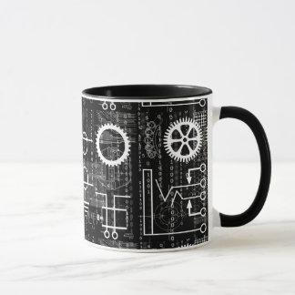 沢山のギアの技術の刺激を受けたなコーヒー・マグ マグカップ