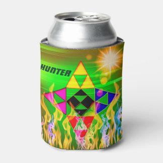 沢山の三角形の-ホールダーはできます-子供 缶クーラー