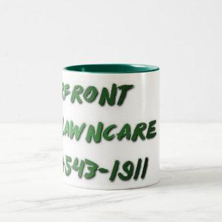 河岸地域のLawncareのマグ ツートーンマグカップ