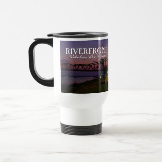 河岸地域- Vidaliaのルイジアナの旅行者のマグ トラベルマグ