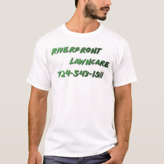 河岸地域Lawncare Tシャツ