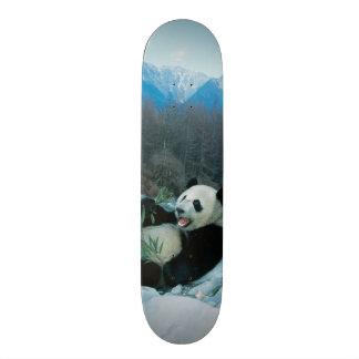 河岸、Wolong、2によるパンダの食べ物のタケ スケートボード